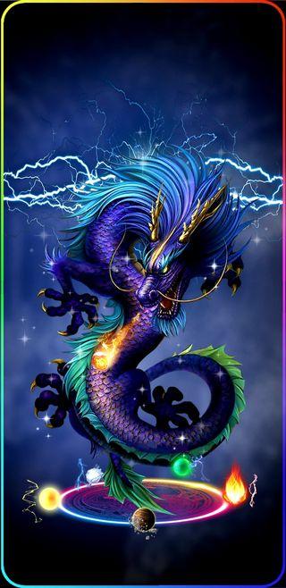 Обои на телефон тьма, молния, вселенная, мир, красочные, космос, дракон, dragon, darkness dragon