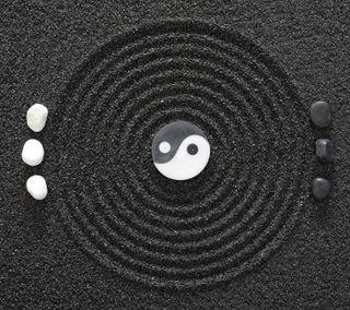 Обои на телефон конепт, черные, фон, камни, дзен, белые, zen concept, stones black white