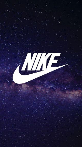 Обои на телефон вселенная, спорт, найк, луна, логотипы, земля, звезды, галактика, nike, galaxy