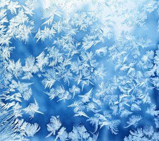 Обои на телефон холод, стекло, природа, лед