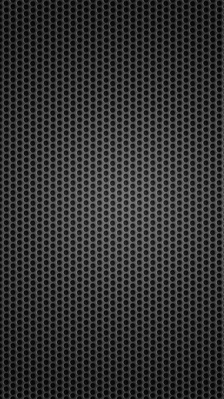 Обои на телефон точки, черные, металлические, круги, metallic circles