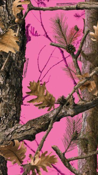 Обои на телефон фотографии, система, розовые, реал, охота, олень, камуфляж, деревья, дерево, pink camo, oak