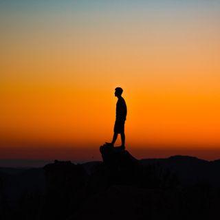 Обои на телефон отношение, природа, одиночество, мальчик, закат, восход