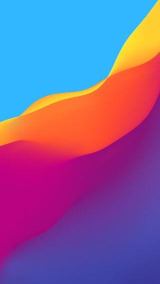 Обои на телефон официальные, эпл, цветные, утро, телефон, премиум, поток, красочные, flow colorful hd, apple