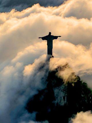 Обои на телефон вера, христианские, небеса, крест, исус, бог, ангелы, ангел, christianity