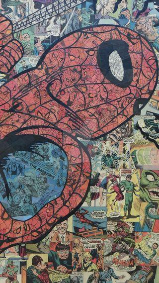 Обои на телефон супергерои, человек паук, паук, мстители, марвел, комиксы, marvel