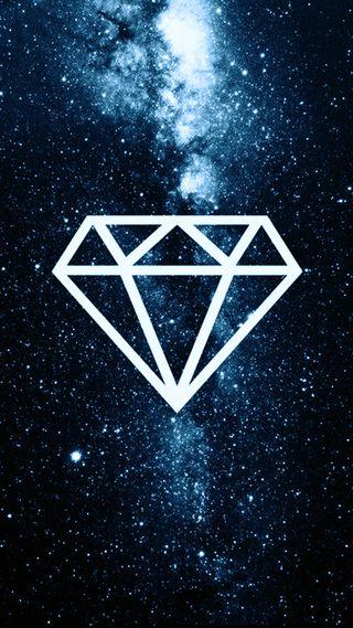Обои на телефон бриллиант, галактика, бриллианты, galaxy, diamante azul, diamante