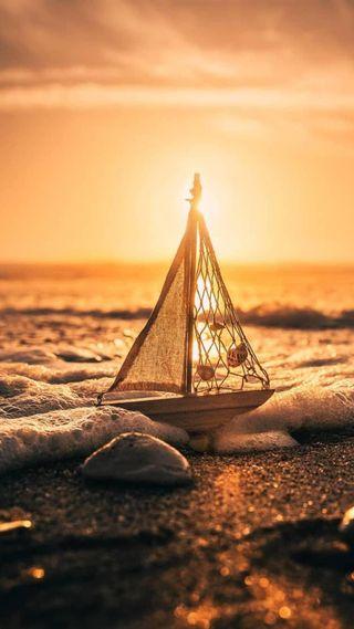 Обои на телефон солнечный свет, пляж, океан, море, лодки, лето, корабли, 2017