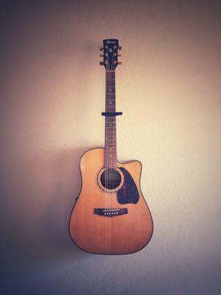 Обои на телефон гитара, фон, фиолетовые, музыка, дерево, бас, strings, pick, neck, fret, acoustic guitar