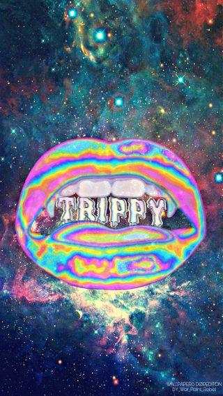 Обои на телефон темы, цветные, хипстер, странные, поездка, звезды, губы, галактика, galaxy