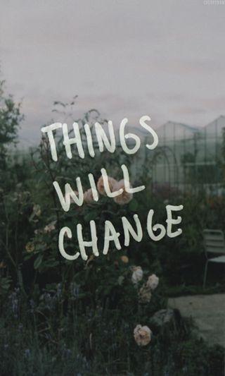 Обои на телефон менять, дела, things will change