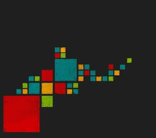 Обои на телефон точки, pixel