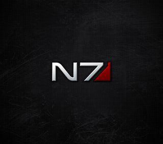 Обои на телефон эффект, видео, логотипы, игры, n7, mass effect n7