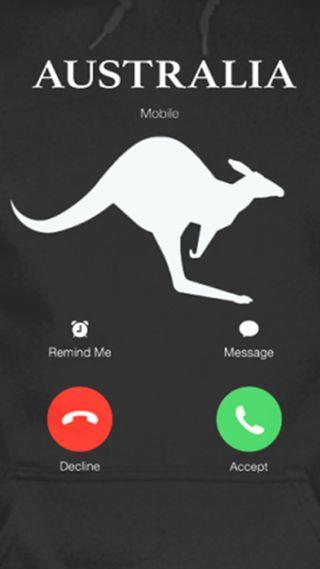 Обои на телефон aussie call