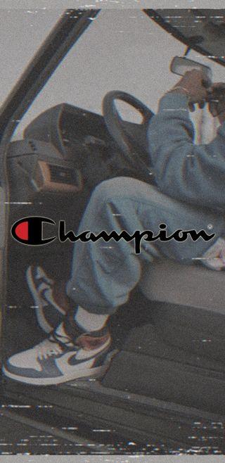 Обои на телефон чемпион, улица, обувь, найк, логотипы, бренды, trends, streetwear, nike, airmax