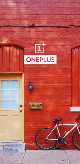 Обои на телефон размытые, стена, крутые, красые, дверь, велосипед, oneplus 6t, oneplus 6, oneplus