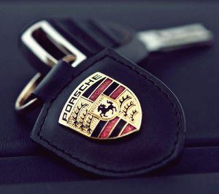 Обои на телефон ключ, символ, порше, новый, логотипы, крутые, кольцр, porsche, key ring