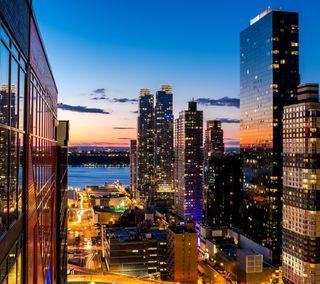 Обои на телефон нью йорк, новый, йорк, здания, город, горизонт, башня, skyline, ny