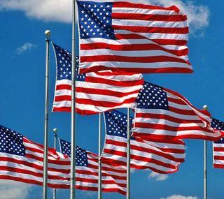 Обои на телефон флаги, флаг, сша, старые, синие, патриот, красые, июль, белые, американские, usa, red white and blue, old glory, american flags