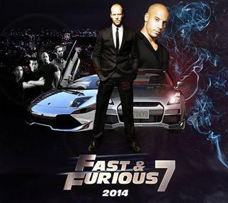 Обои на телефон яростный, экшен, фильмы, семь, новый, машины, fast and furious 7, fast, 2014