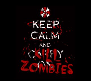 Обои на телефон страшные, спокойствие, зомби, амбрелла, umbrella corporation, kill, keep