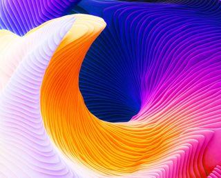 Обои на телефон спираль, абстрактные, abstract spiral, 3д, 3d