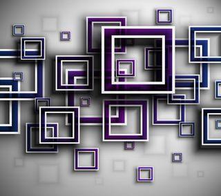 Обои на телефон кубы, абстрактные, abstract cubes, 2160x1920