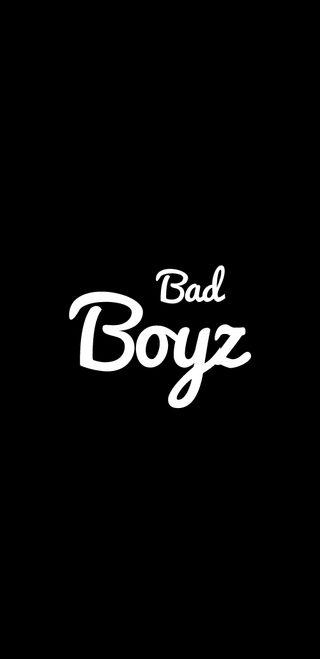 Обои на телефон черные, цитата, плохой, мальчики, амолед, bad, bad boys, amoled