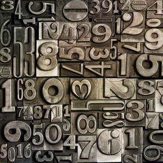 Обои на телефон числа, металлические, стальные, мотивация, металл, абстрактные