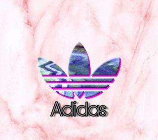 Обои на телефон мрамор, фиолетовые, сердце, розовые, адидас, adidas