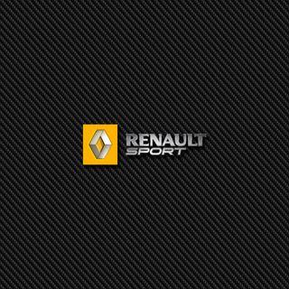 Обои на телефон значок, эмблемы, спорт, логотипы, карбон, renault sport carbon, renault