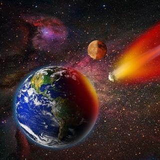 Обои на телефон космос, земля, галактика, внешний, взрыв, атака, абстрактные, galaxy, asteroid