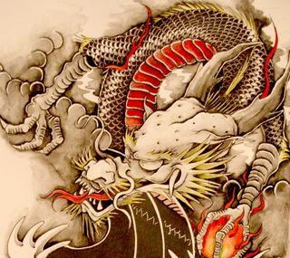 Обои на телефон дракон, dragon, 489