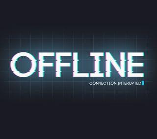 Обои на телефон шутка, цитата, светящиеся, поговорка, забавные, offline, no connection