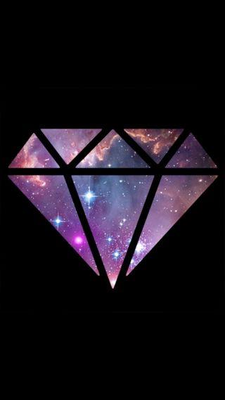 Обои на телефон бриллиант, галактика, galaxy