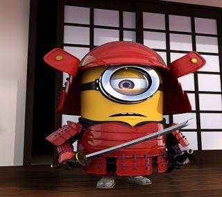 Обои на телефон самурай, приятные, новый, миньоны, милые, крутые, комедия, гадкий, hd, 2014