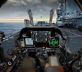 Обои на телефон carrier, cockpit, harrier, pilot, боец, самолет, реактивный