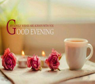 Обои на телефон чай, розы, вечер, good evening rose te, good evening