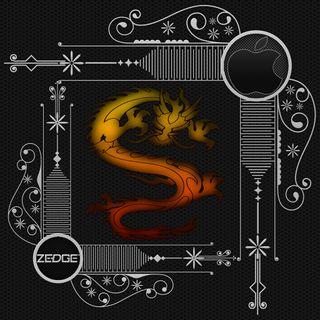 Обои на телефон племенные, черные, цвета, тату, стиль, огонь, дракон, дизайн, dragon