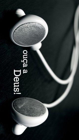 Обои на телефон слышать, слушать, наушники, исус, бог, ouvir, ouca a deus, gospel, evangelho