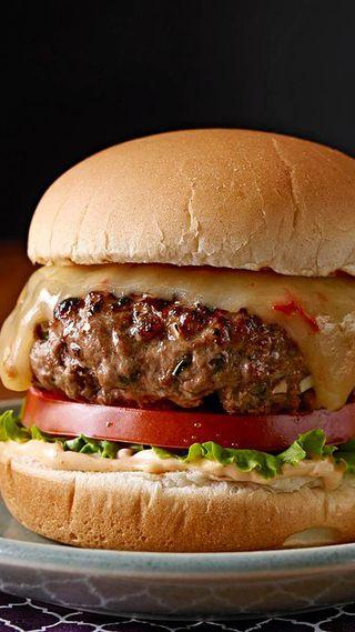 Обои на телефон еда, сумасшедшие, crazy burger, burger