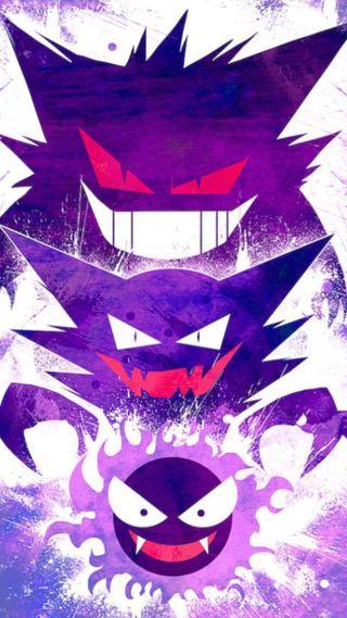 Обои на телефон дети, японские, фиолетовые, фильм, покемоны, мультфильмы, дракон, hd, ginger, dragon