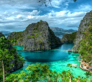 Обои на телефон рай, пляж, остров