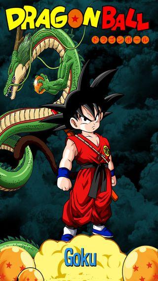 Обои на телефон мяч, дракон, гоку, son, shenron, dragon, drac, bola