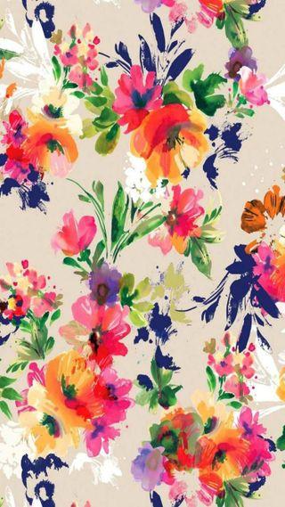 Обои на телефон цветочные, красочные, colorful floral