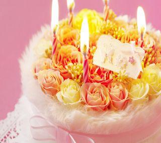 Обои на телефон торт, счастливые, приятные, прекрасные, пожелания, день рождения