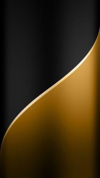 Обои на телефон черные, фон, стиль, синие, золотые, грани, абстрактные, s7, edge style