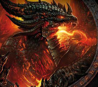 Обои на телефон дракон, wow, dragon