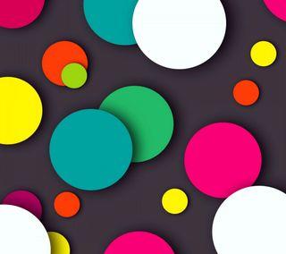 Обои на телефон цвета, круги