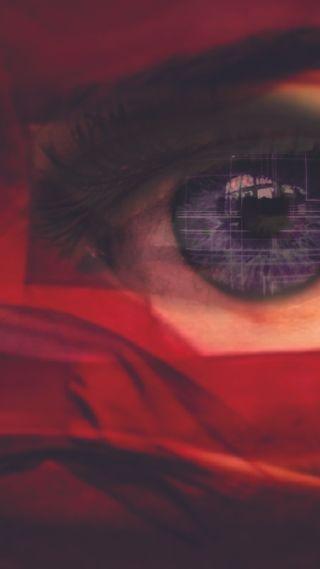 Обои на телефон один, черные, красые, глаза, one